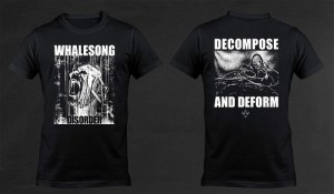 whalesong t-shirt